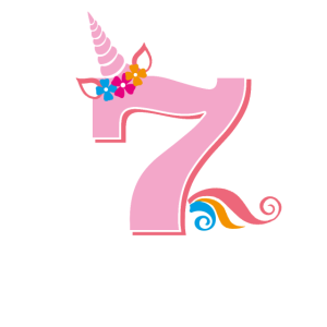 7. Geburtstag Einhorn