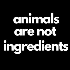 Tiere sind keine Zutaten 1