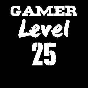 gamer level 25