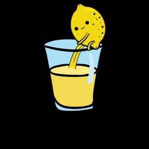 Lemon Juice drinker refreshing healthy fruits