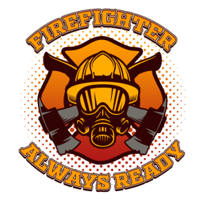 Firefighter Always Ready TShirt Save Lives Fireman