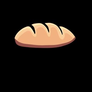 Bread Pain Brot T-Shirt Bäcker