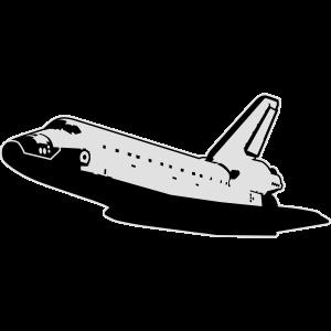 Space Shuttle (keine Embleme)