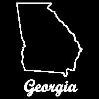 Georgia Georgien Landkarte