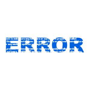 Blue Screen ERROR Computer Glitch