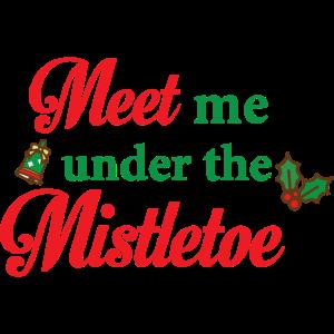 Mistelzweig Shirt · Festlich · Weihnachts Geschenk