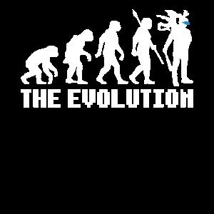 Virtual Reality Evolution der Gamer T-Shirt
