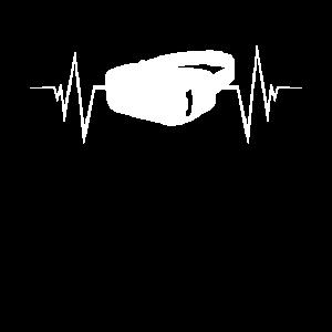 Virtual Reality Herzschlag T-Shirt