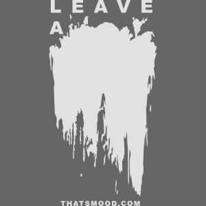 Leave a mark Vector White