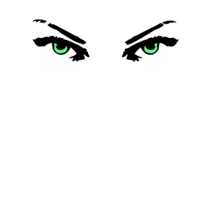 Eyes Eyelashes Stare Neon Woman Angry Dark Gaze