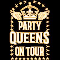 23 Party QUEENS on Tour Krone Flügel