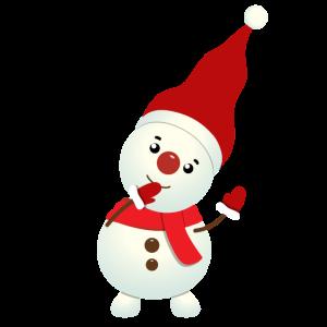 Dabbin snowman