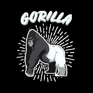 Gorilla Primat Menschenaffe King Kong Regenwald