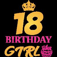 18 Geburtstag Girl