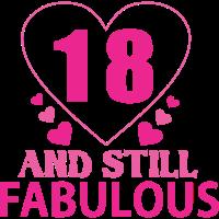 18. Geburtstag - und immer noch fabelhaft