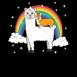 Shiba Inu Hund Alpaka Lustig Weihnachten Geschenk