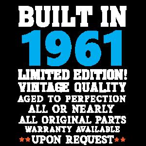 Built in 1961