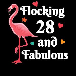 Flocking 28 and fabulous