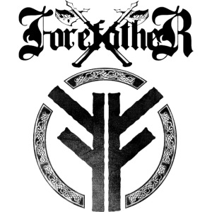 Forefather logo and symbol black