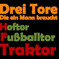 Traktor Landwirt Bauer Tor Geschenk