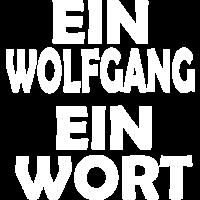 Wort Vertrauen WOLFGANG