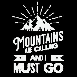 Berge rufen und ich muss gehen - Touren