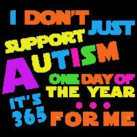 Autismus-Bewusstsein erziehen Liebes-Unterstützer