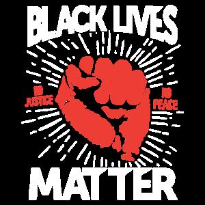 Schwarz lebt Matter Shirt