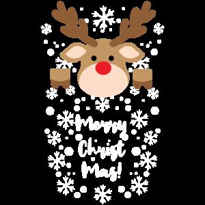 Frohe Weihnachten wünscht Rudolf