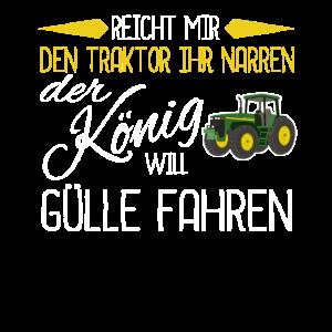 Reicht Mir Den Traktor Landwirt Bauer Geschenk