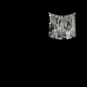 Brusttasche/Hemdtasche Skyline