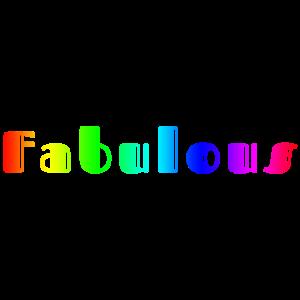 Fabulous Rainbow Geschenk