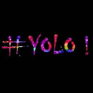 YOLO - Das Leben ist bunt