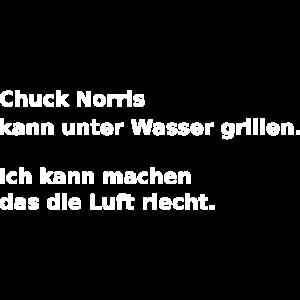 Chuck Norris kann unter Wasser grillen