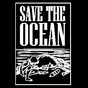 Umweltschutz Rettet den Ozean T-Shirt