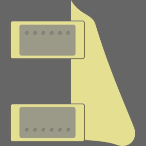 Humbucker Pickups and Pickguard