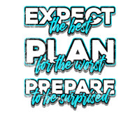 Project manager expect best plan worst be suprised