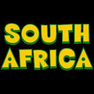 South Africa Suedafrika Afrika Nationalfarben Schr