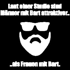 Männer mit Bart sind attraktiver als ...
