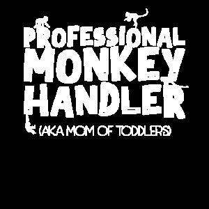 Professioneller Affenhandler