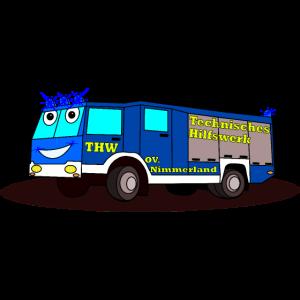 THW Fahrzeug GKW