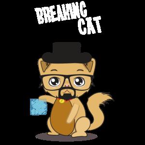 Süße Katze Heisenberg Cat Meth Blue