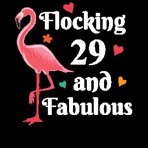 Flocking 29 and fabulous