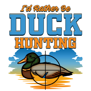 Duck Hunting | Crosshair Quack | Bird Target Quote