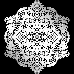 Stern Blumen Mandala Ornament