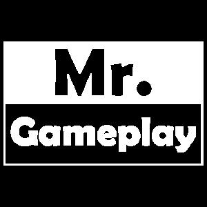 Mr. Gameplay, Gamer, Gaming, Geschenk