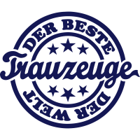 Bester Trauzeuge (Stempel)