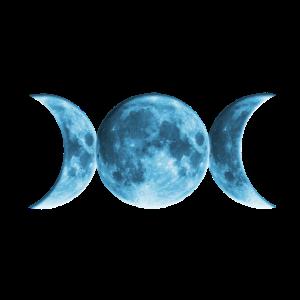 Wicca Blue Moon, pagan, Mond, Vollmond