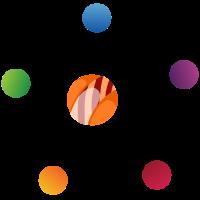 mehrfarbiger Kreis