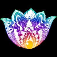 Lotusblume bunt KreativLoftWuppertal